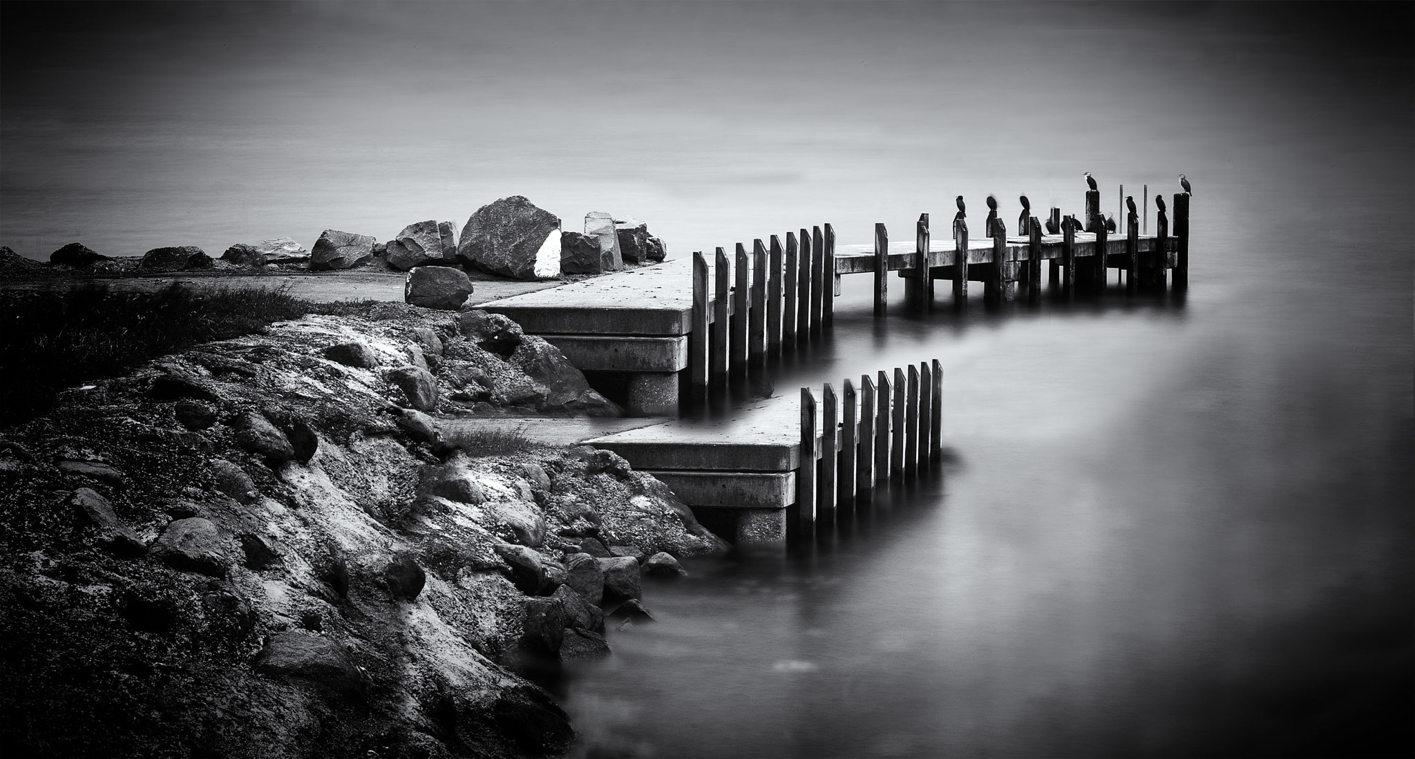 Photograph Double Jetty by Margaret Morgan on 500px