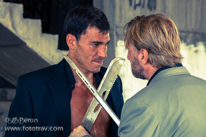 Photograph Sword Fight by Fototrav Photography on 500px