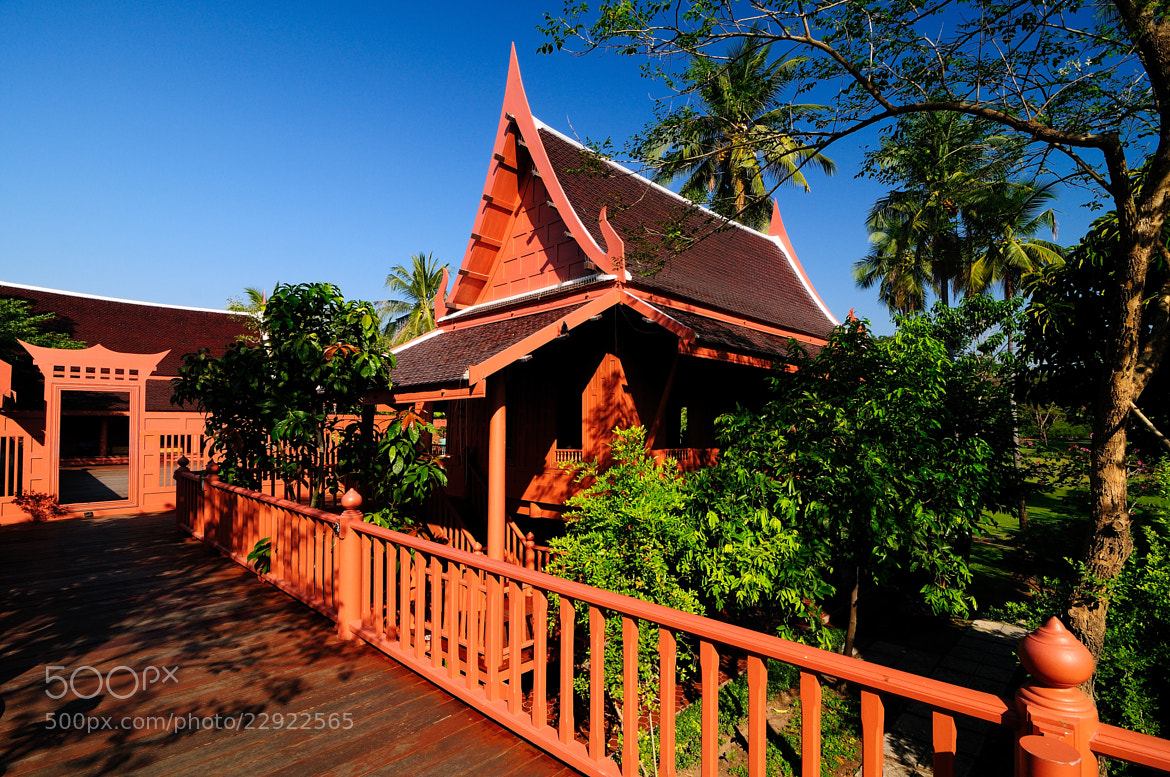 Photograph Traditional Thai Style House by Photos of Thailand .... on 500px