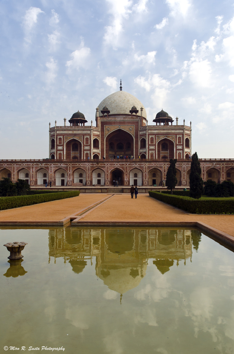 Photograph Humayun's Tomb by Miro Susta on 500px