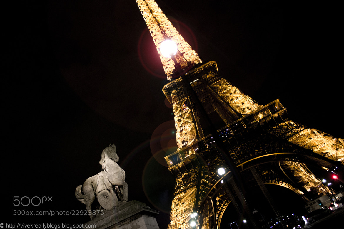 Photograph The Eiffel Tower by Vivek Pandey on 500px