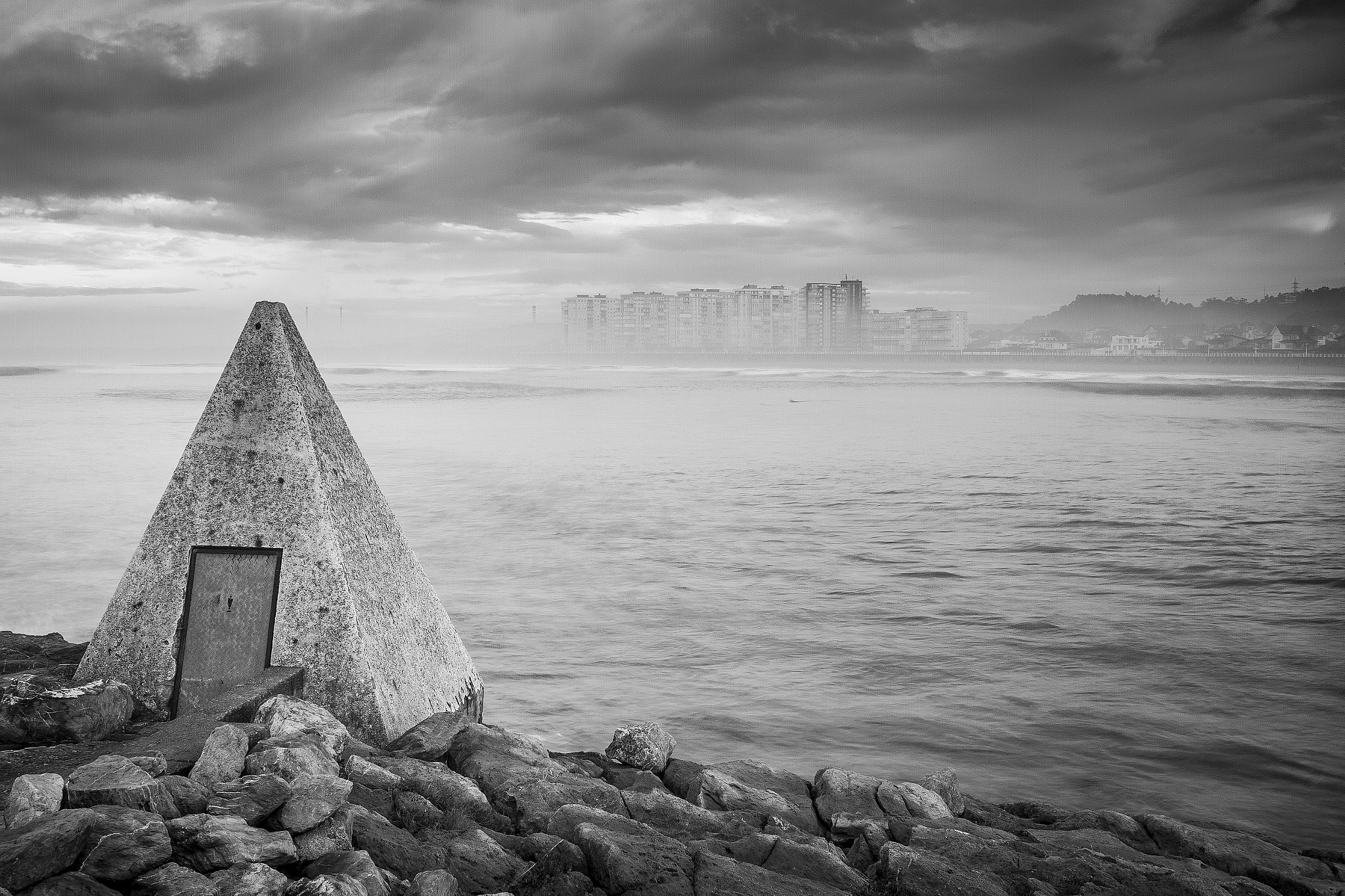 Photograph Salinas Beach BW by David Robles  on 500px