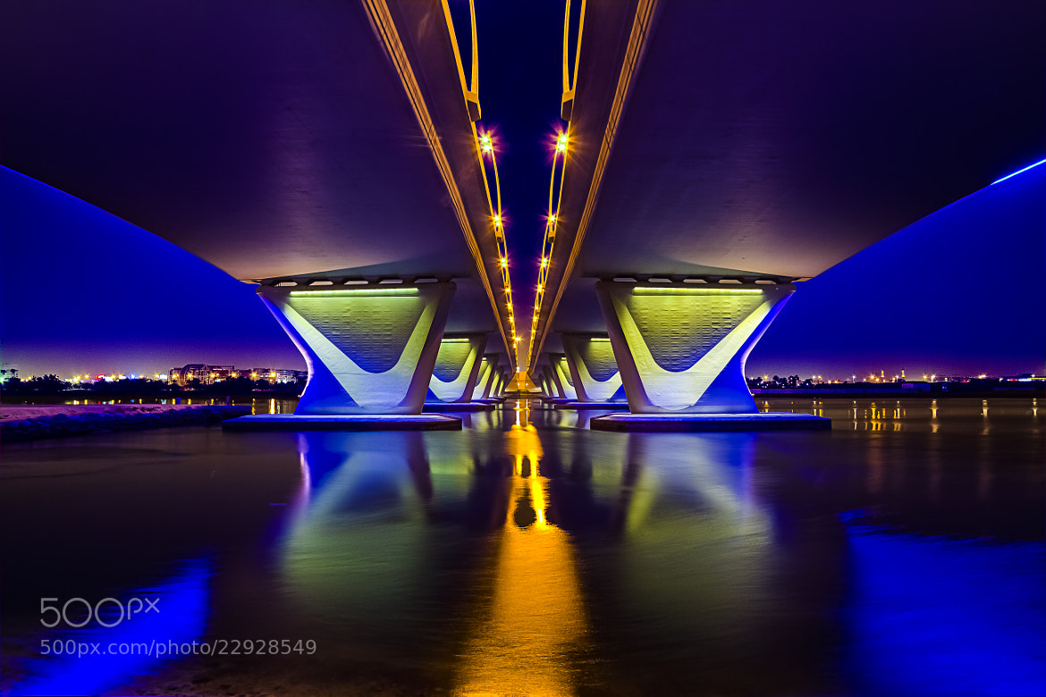 Photograph D' Color's Of D' Night Under D' Bridge IV by Anthony Mejia on 500px