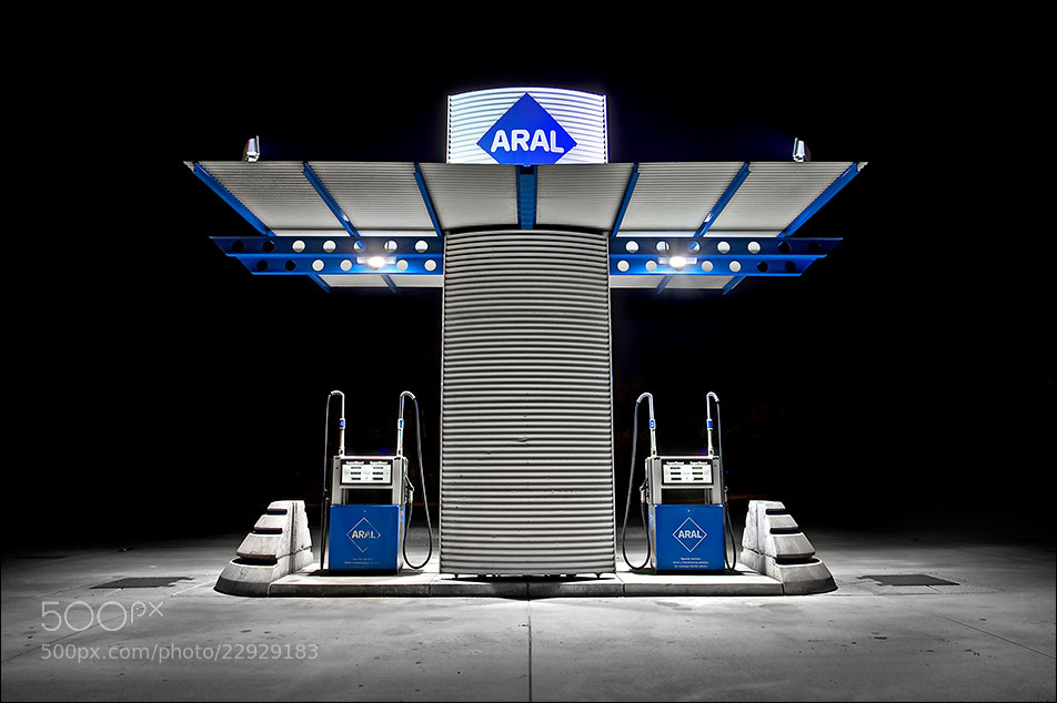 Photograph Automatic diesel station by Sus Bogaerts on 500px