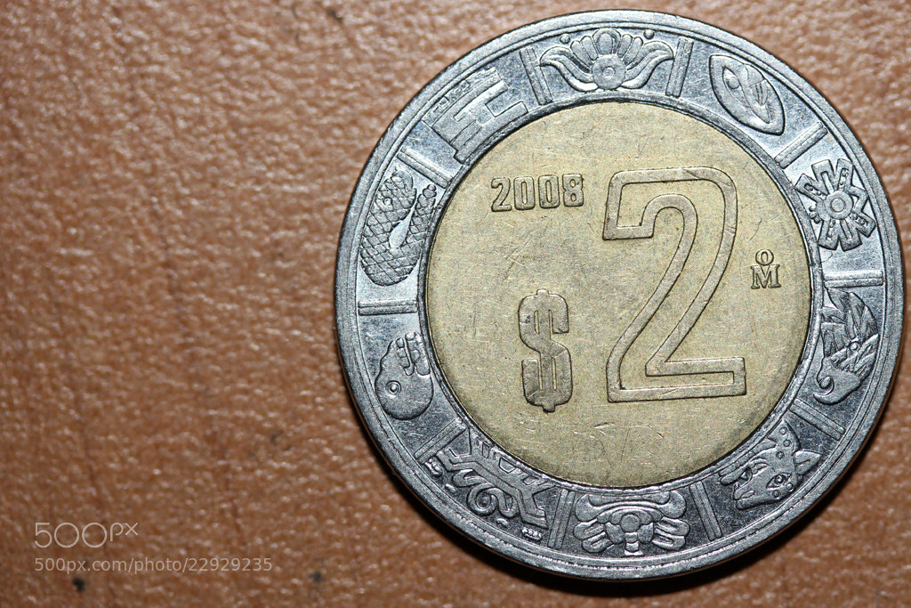 Photograph 2 Mexican Pesos by Ivan Hernandez on 500px