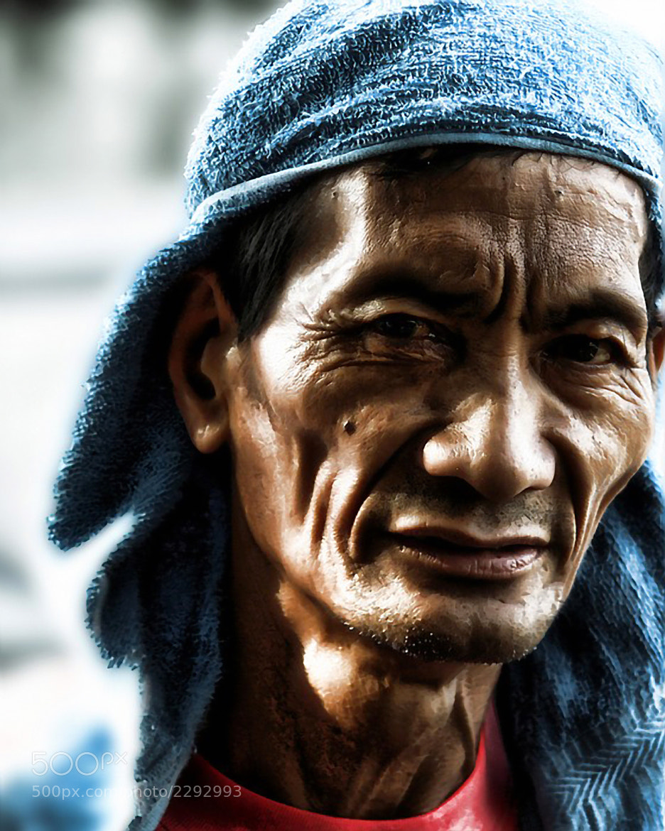 Photograph portrait of heat and shadows by raymond catedral on 500px