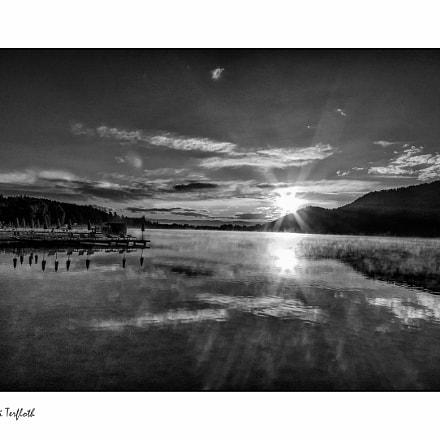 Sunsrise at the Klopeiner See (Austria)