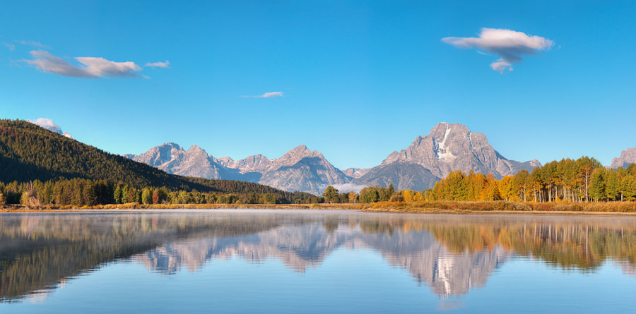 Photograph Oxbow Bend by Chad Griggs on 500px