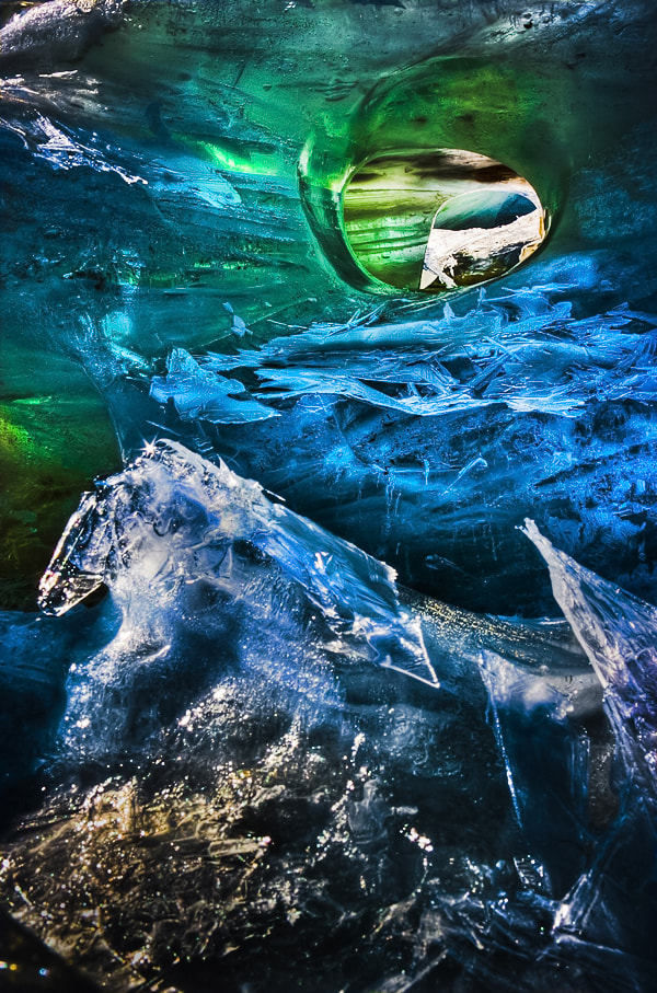 Photograph Ice Aurora by Max Vysota on 500px