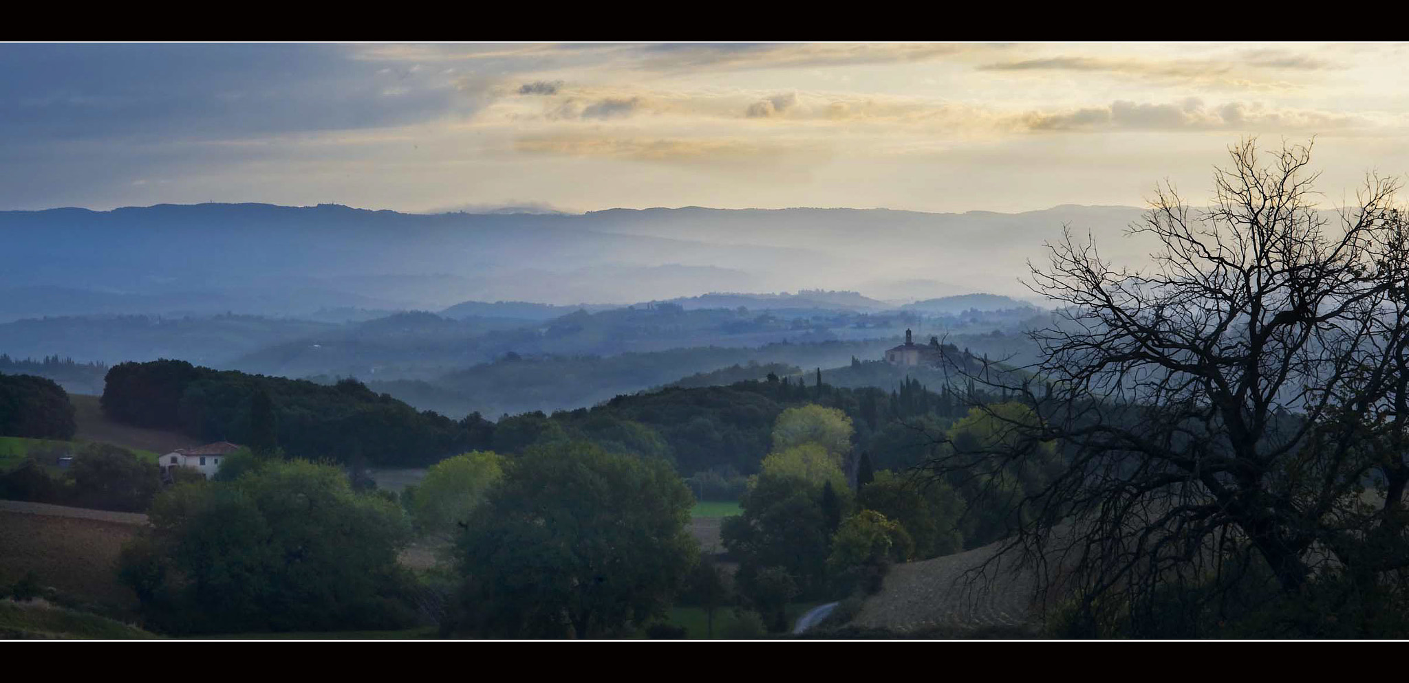 Photograph Tuscan Sunrise by Anthony W. S. Soo on 500px