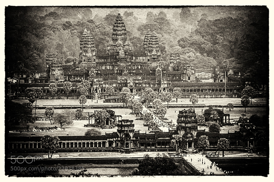 Photograph Old Poscard about Angkor Wat by Csilla Zelko on 500px