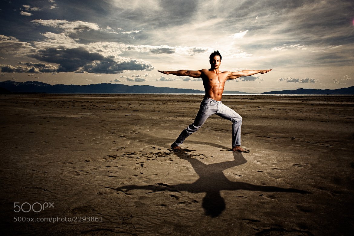 Photograph Yoga on the Great Salt Lake by dav.d daniels on 500px