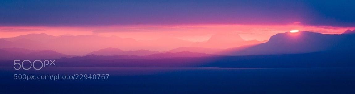 Photograph Sunrise over the Torridon Mountains by Maciej Markiewicz on 500px