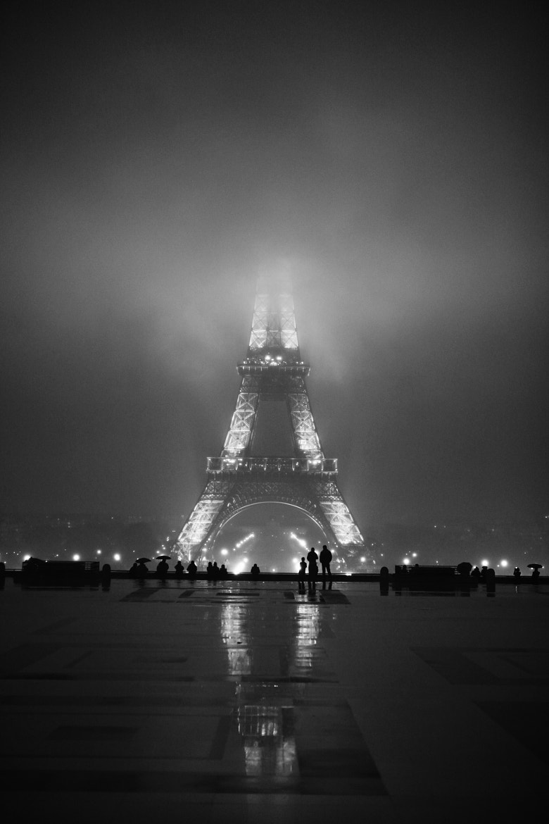 Photograph Eiffel Tower into the fog by Anthony Taieb on 500px