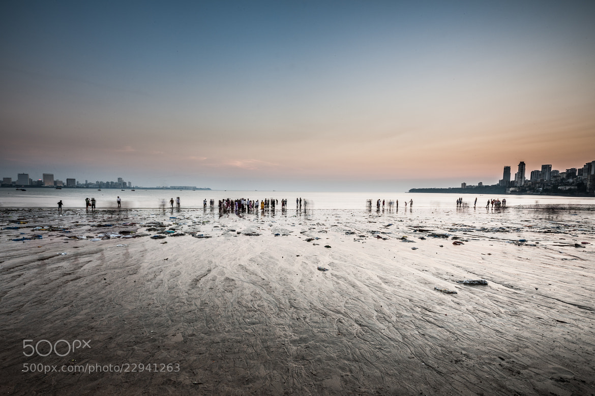 Photograph Chowpatty beach by Sebastien Degardin on 500px