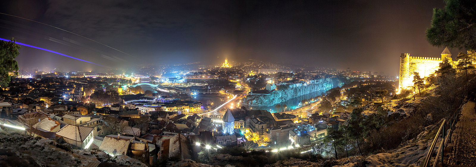 Photograph Tbilisi At Night by Levan  Nioradze on 500px