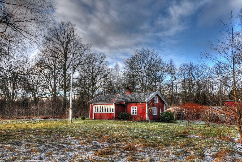 Photograph The red cottage... by Almqvist Photo on 500px