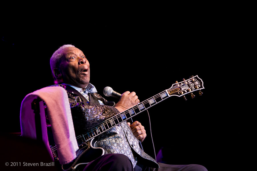 Photograph BB King by Steve Brazill on 500px