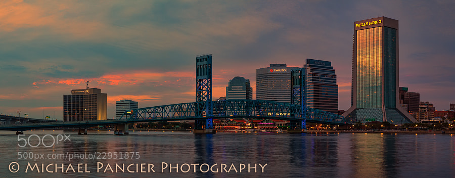 Taken from the Friendship Fountain, Downtown Jacksonville