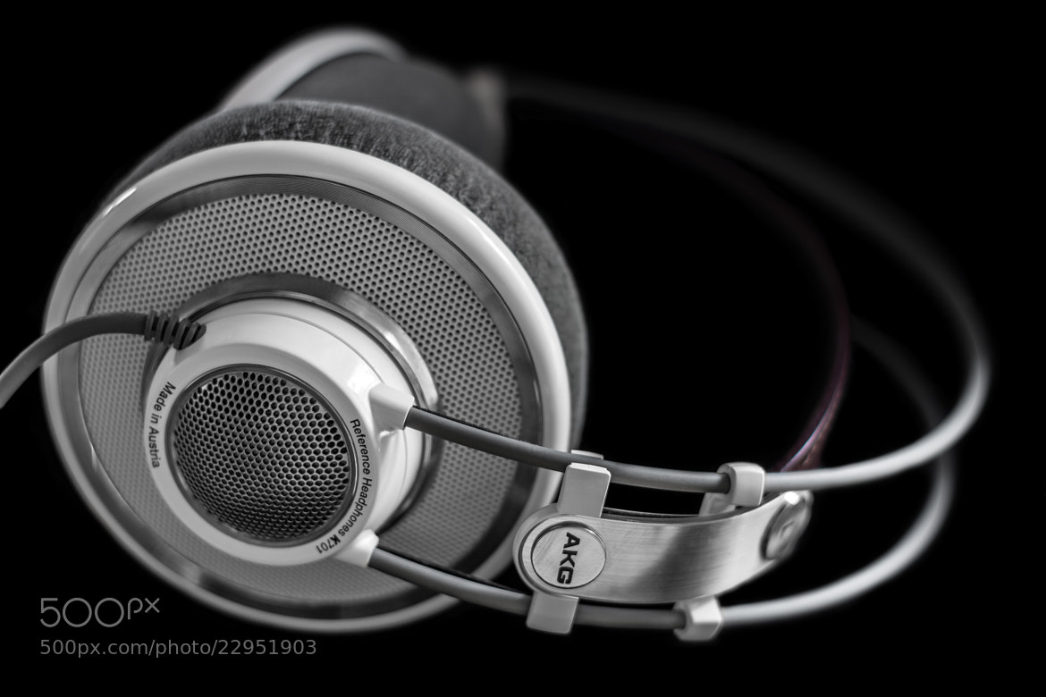 Photograph Headphones (AKG K701) by Philip W on 500px