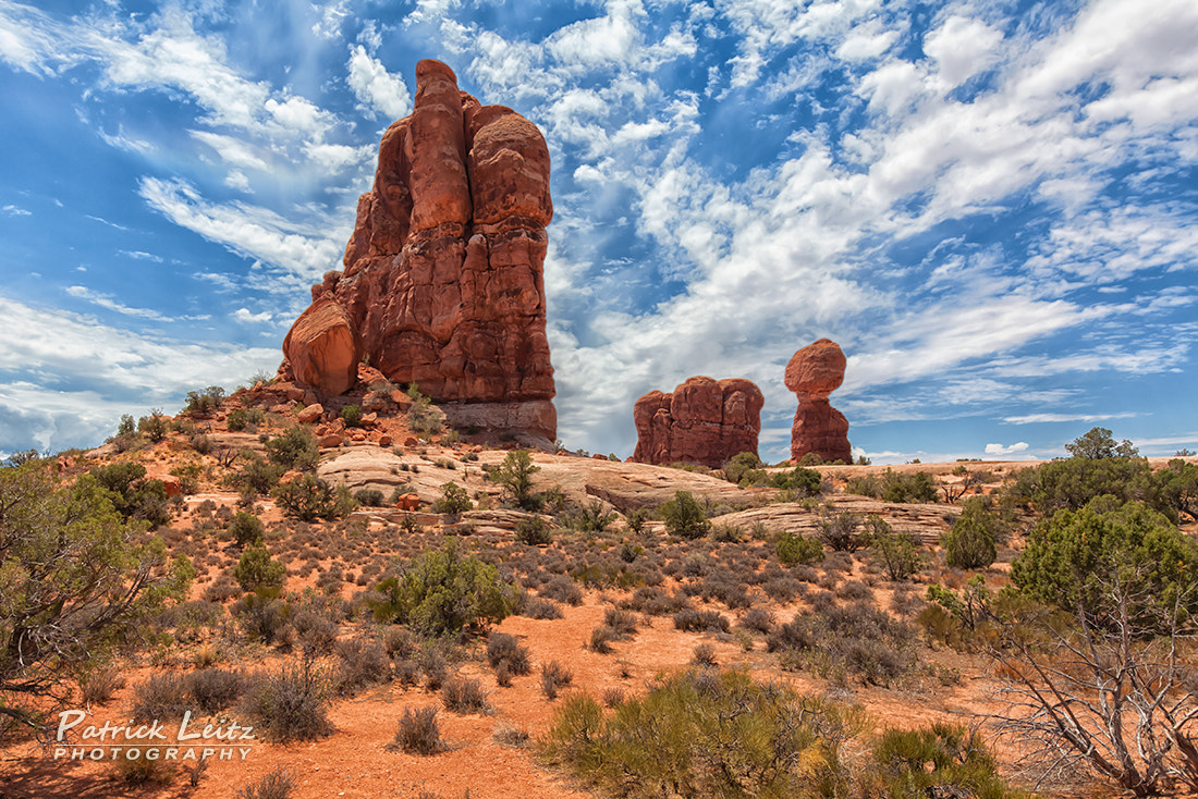 Photograph Balanced Rock - Arches National Park by Patrick Leitz on 500px