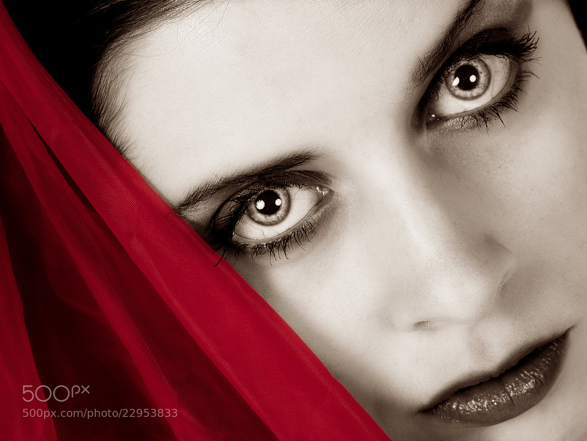 Photograph Red Model by Tim Reisdorf on 500px
