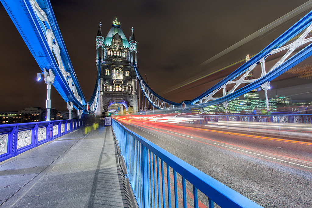 Photograph Tower Bridge by Helminadia Ranford on 500px