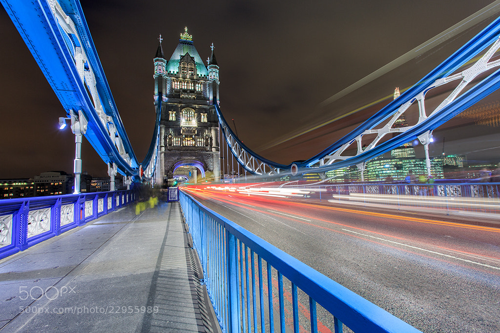 Photograph Tower Bridge by Helminadia Ranford on 500px