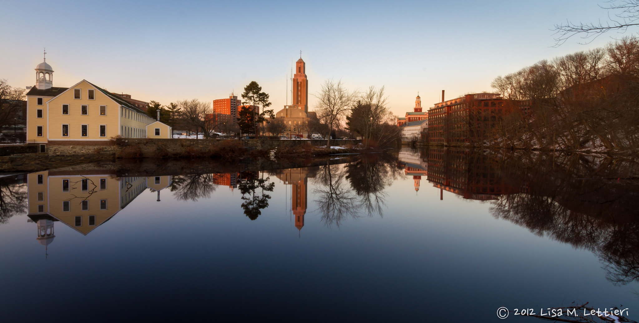 Photograph Old Slater Mill and Downtown Pawtucket by Lisa Lettieri on 500px