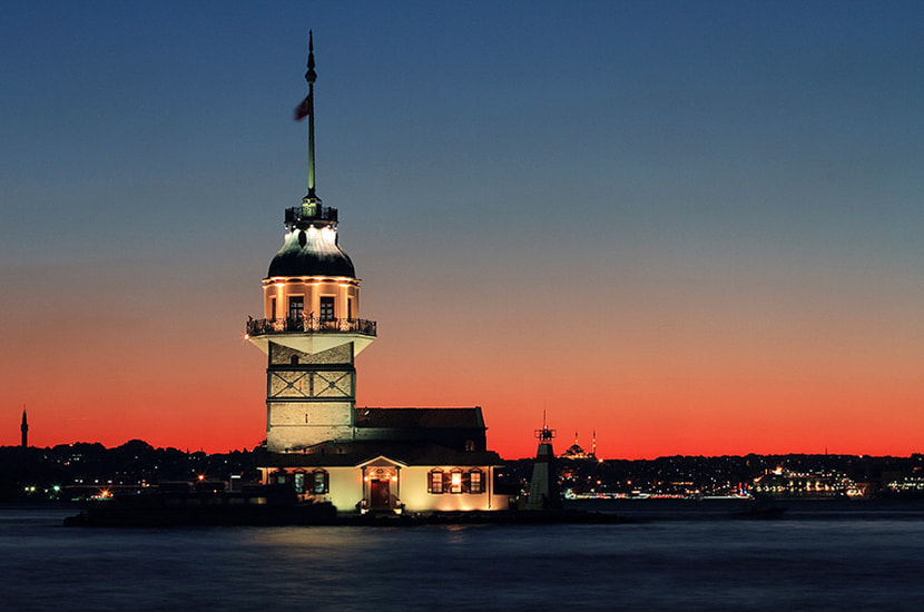 "Photograph ""night & city ""  (istanbul) by e&e photography on 500px"