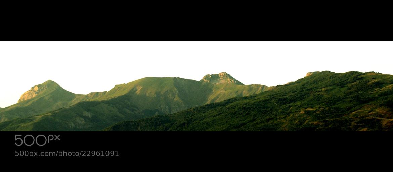Photograph Green Peaks by Burim Fejsko on 500px