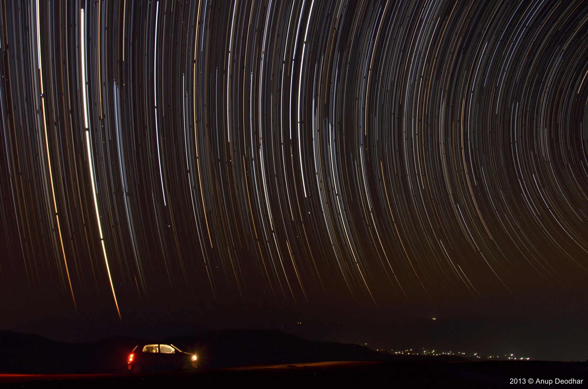 Photograph Star trails by Anup Deodhar on 500px