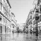 Malaga, shopping street