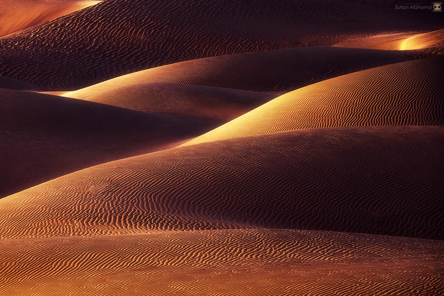 Photograph desert waves  by sultan alghamdi on 500px