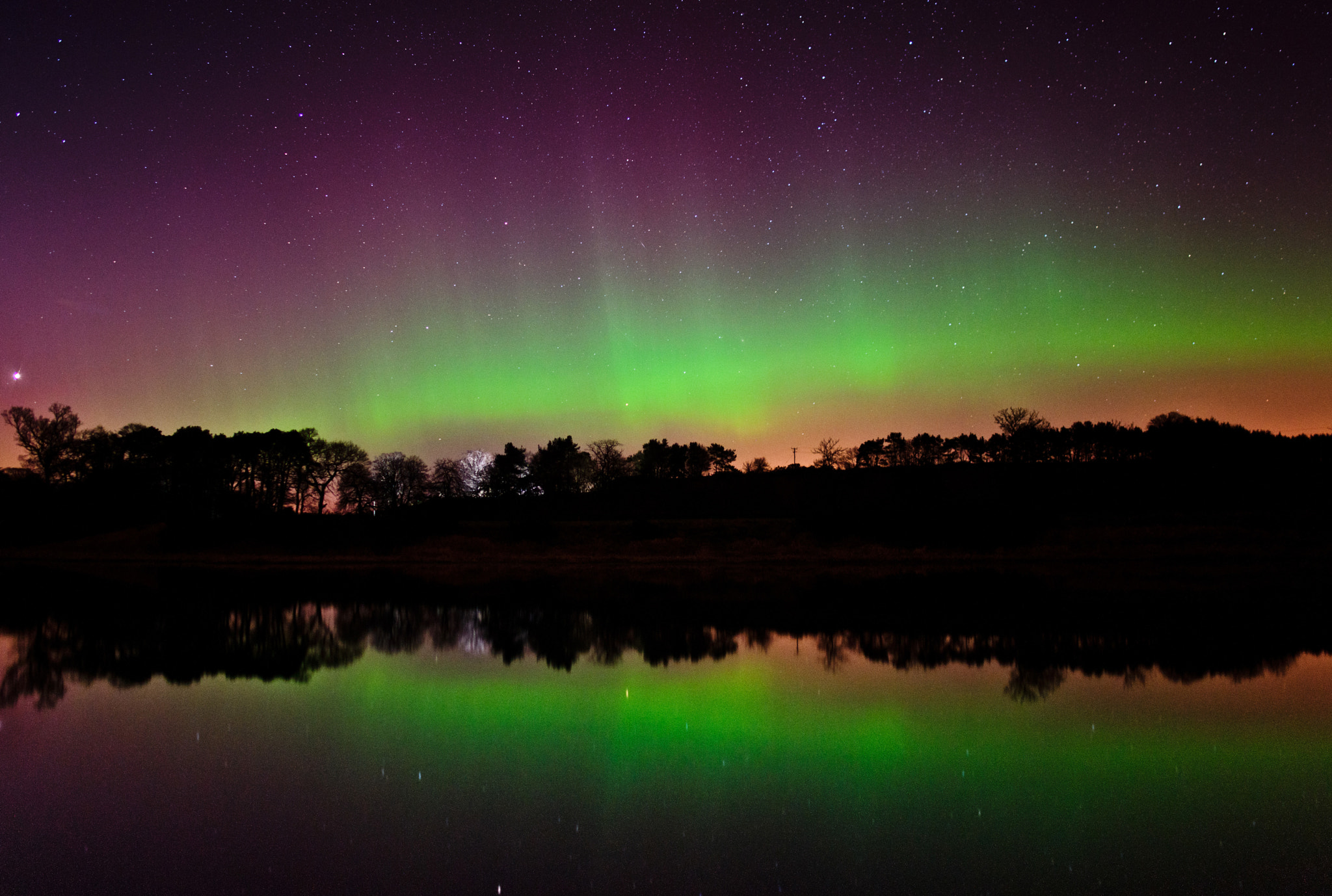 Photograph Scottish aurora by Kenny Muir on 500px