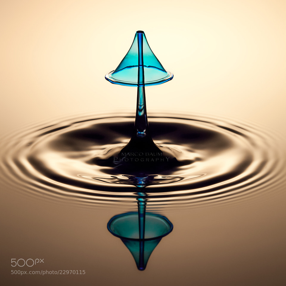 Photograph cyan umbrella by Marco Baum on 500px