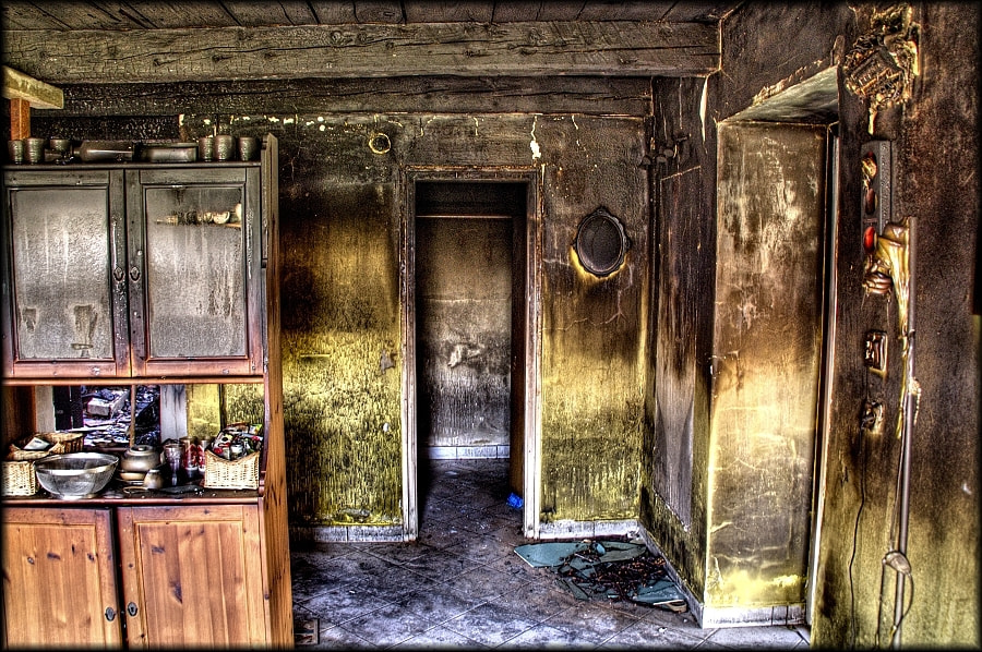 Photograph After fire 2  by Merl Antal György on 500px