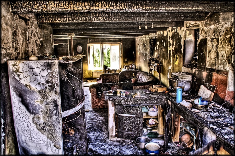Photograph After fire 3  by Merl Antal György on 500px