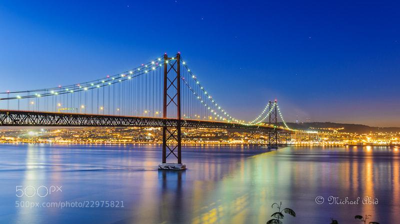 Photograph Nightly Lisbon by Michael Abid on 500px