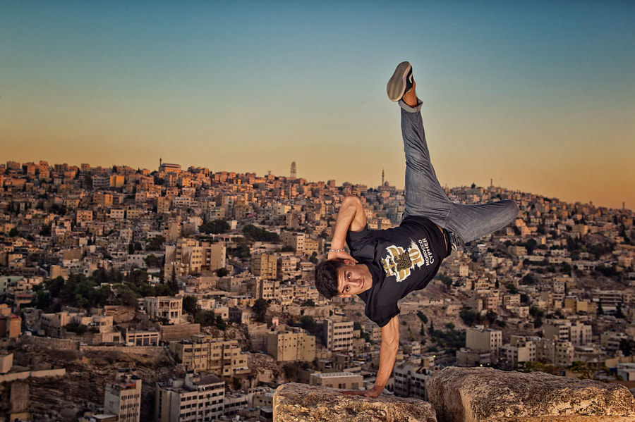 B-Boy Lil Zoo, Amman, 2014 by Nika Kramer on 500px.com