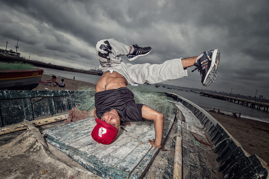 B-Boy Lima, Peru, 2015 by Nika Kramer on 500px.com