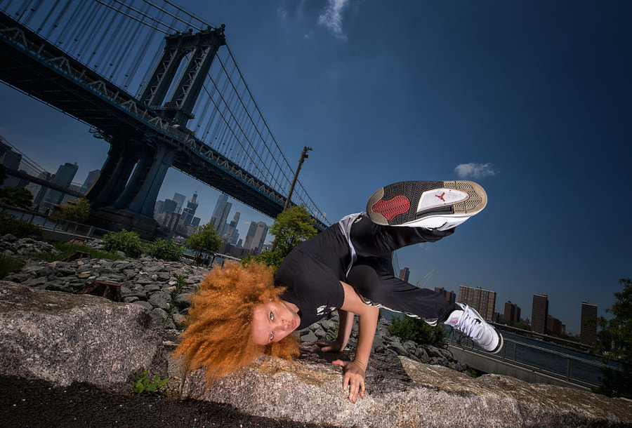 B-Girl Jade, New York, 2016 by Nika Kramer on 500px.com