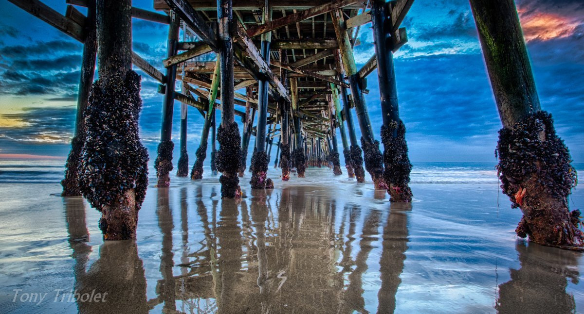 Photograph San Clemente Pier HDR by Tony Tribolet on 500px