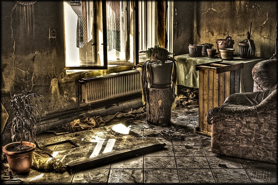 Photograph After fire 5  by Merl Antal György on 500px