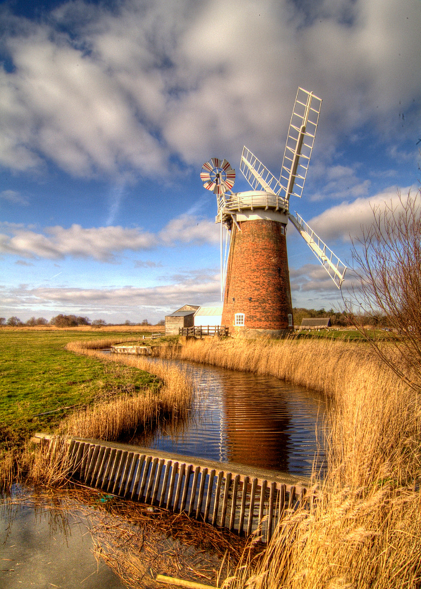 Photograph Horsey windpump by Mike Baker on 500px
