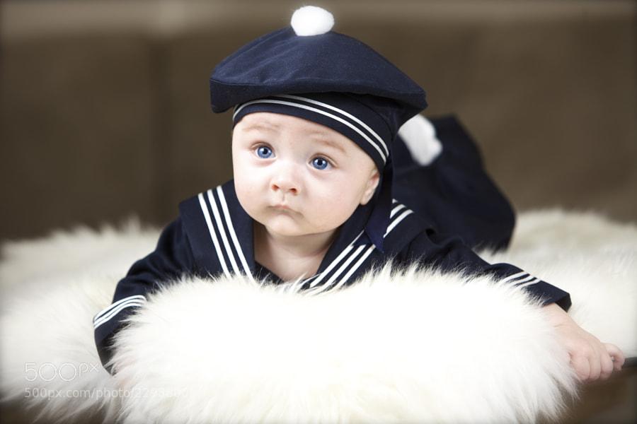 Norwegian blue eyed boy