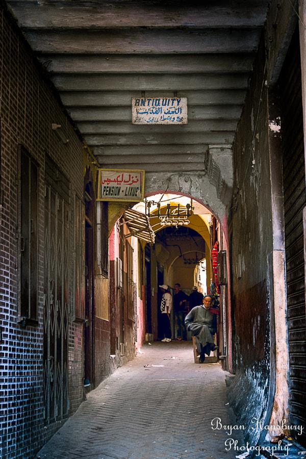 Street Scene Tangier