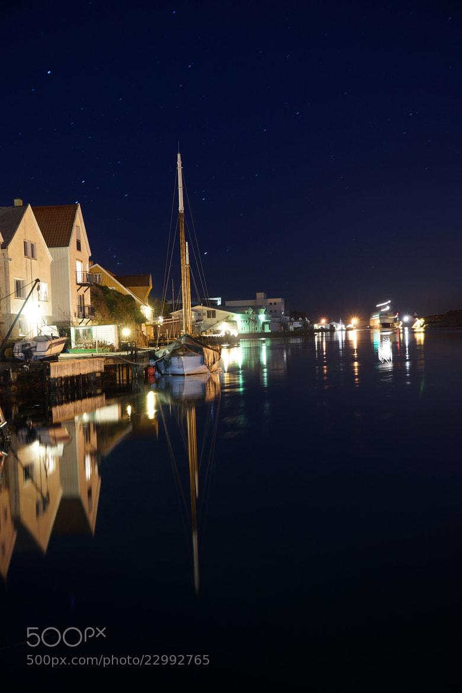 Photograph sailboat and stars by Magnus Østebrød on 500px