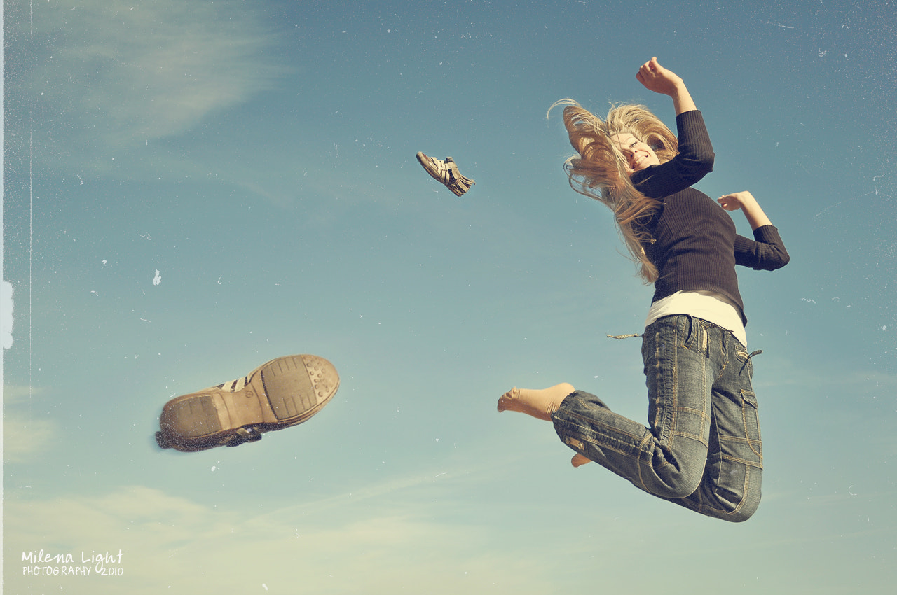 Photograph baby, jump, jump! ) by Elena Butenko on 500px