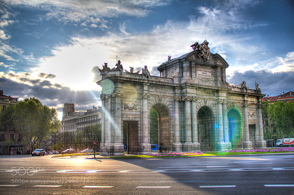 Photograph Puerta de Alcalá by Rocko Flores on 500px